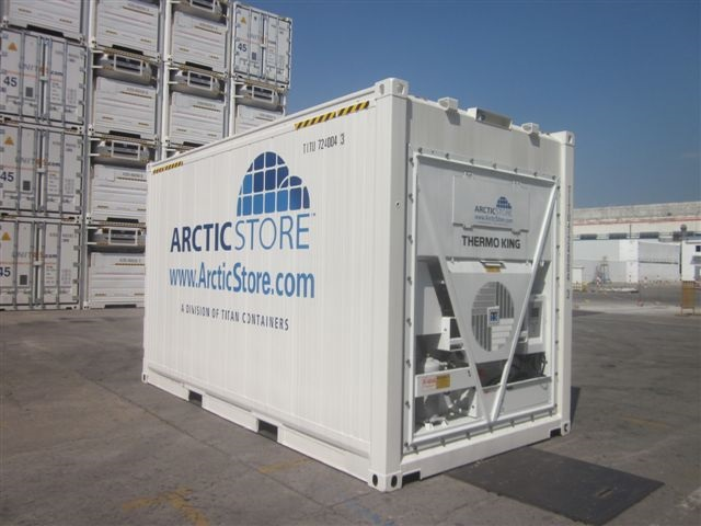 15 ft cold store container