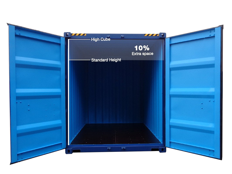 High Cube TITAN Containers 40 foot shipping container new 10 more space
