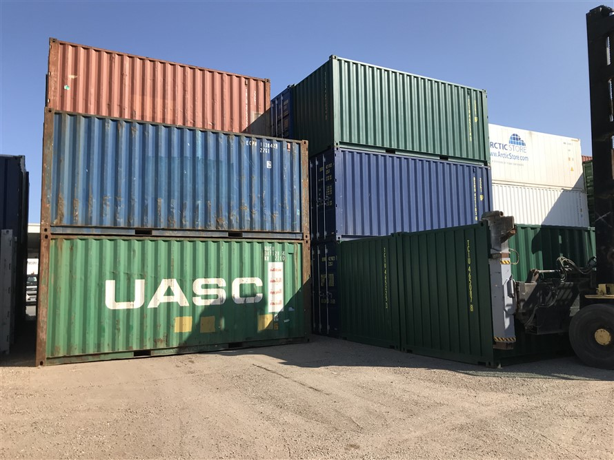used shipping containers TITAN Containers