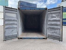 Grade A TITAN Containers Shipping Container Inside Look