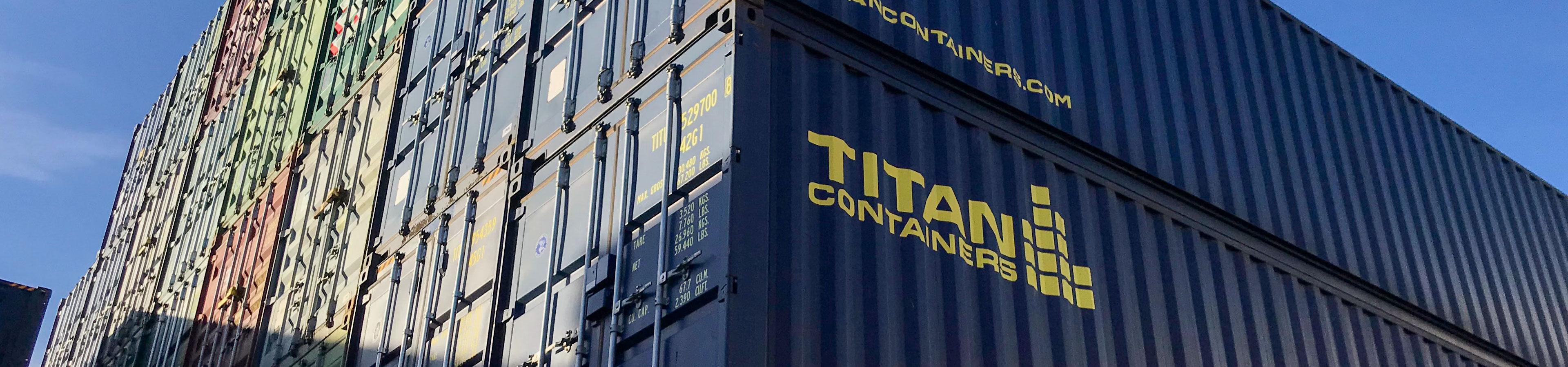 TITAN CONTAINERS 40FT STORAGE CONTAINERS