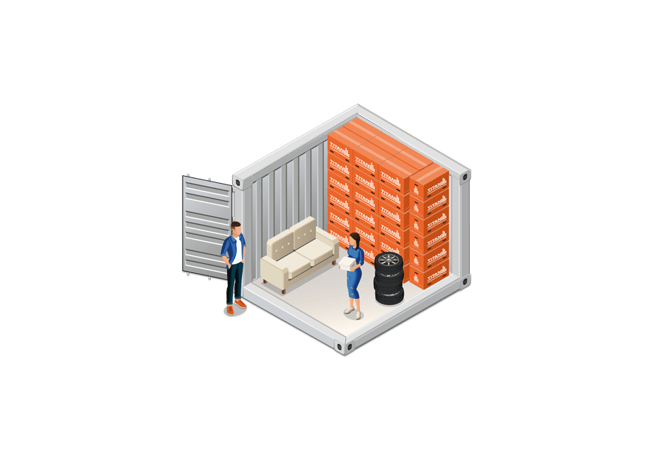 10' Container | TITAN Containers