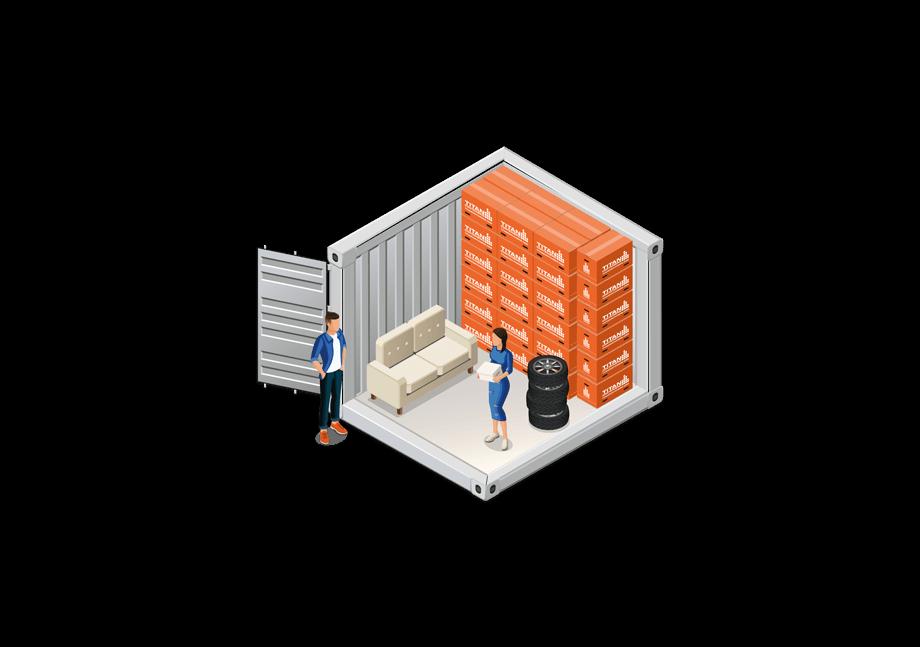 10 foot self storage