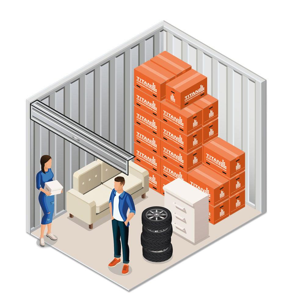 Medium Room | TITAN Containers
