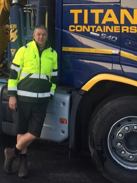 Uk TITAN Containers Driver 2