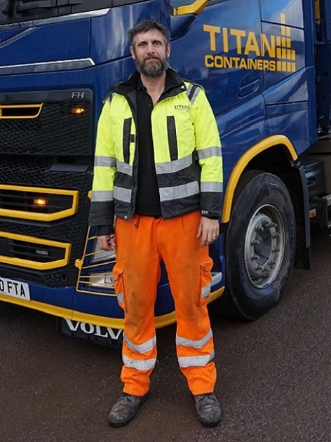 Uk TITAN Containers Driver 8