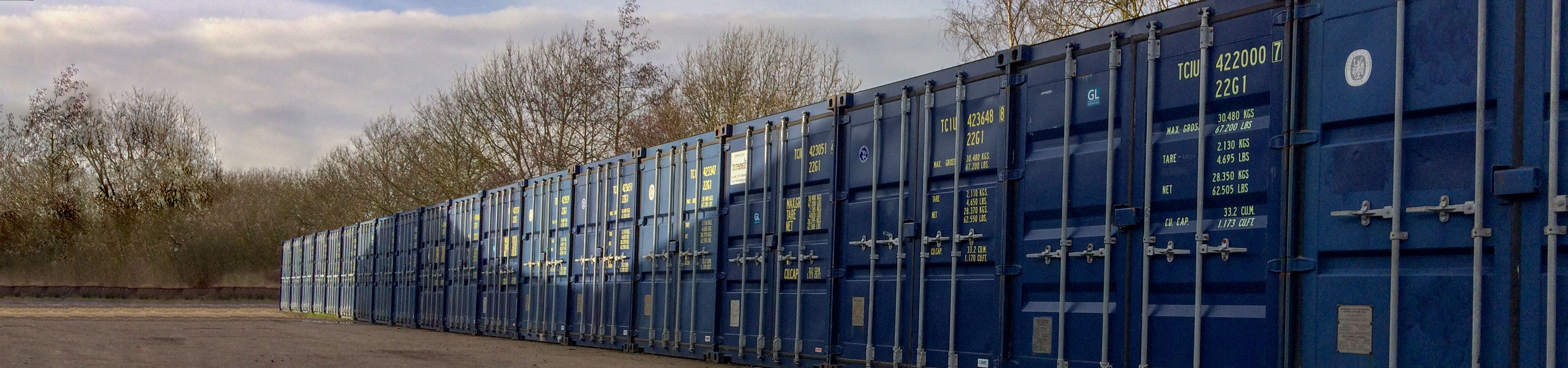 Caxton and Cambourne Self Storage header image   TITAN Containers