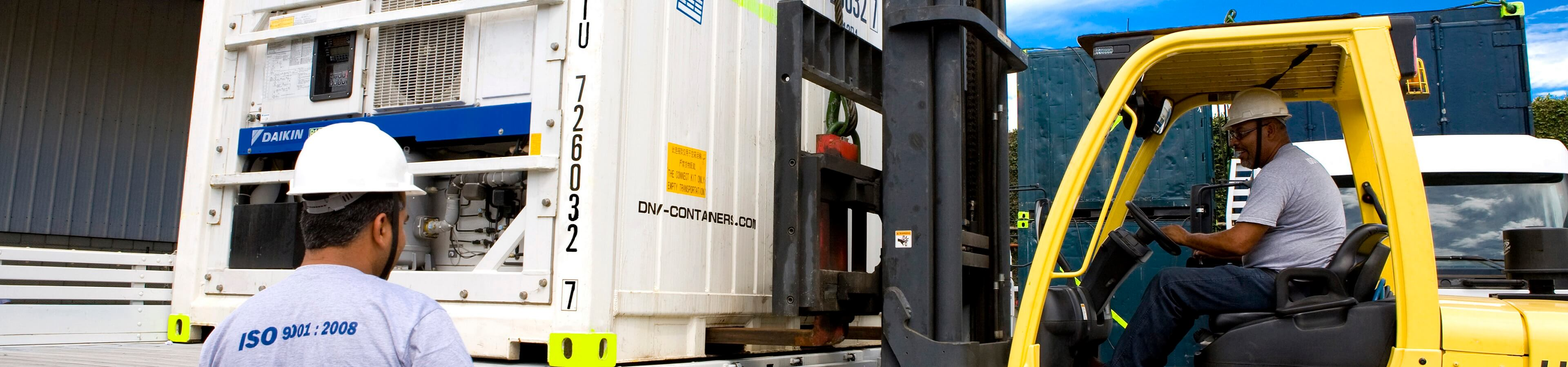 FORK TRUCK AND DNV