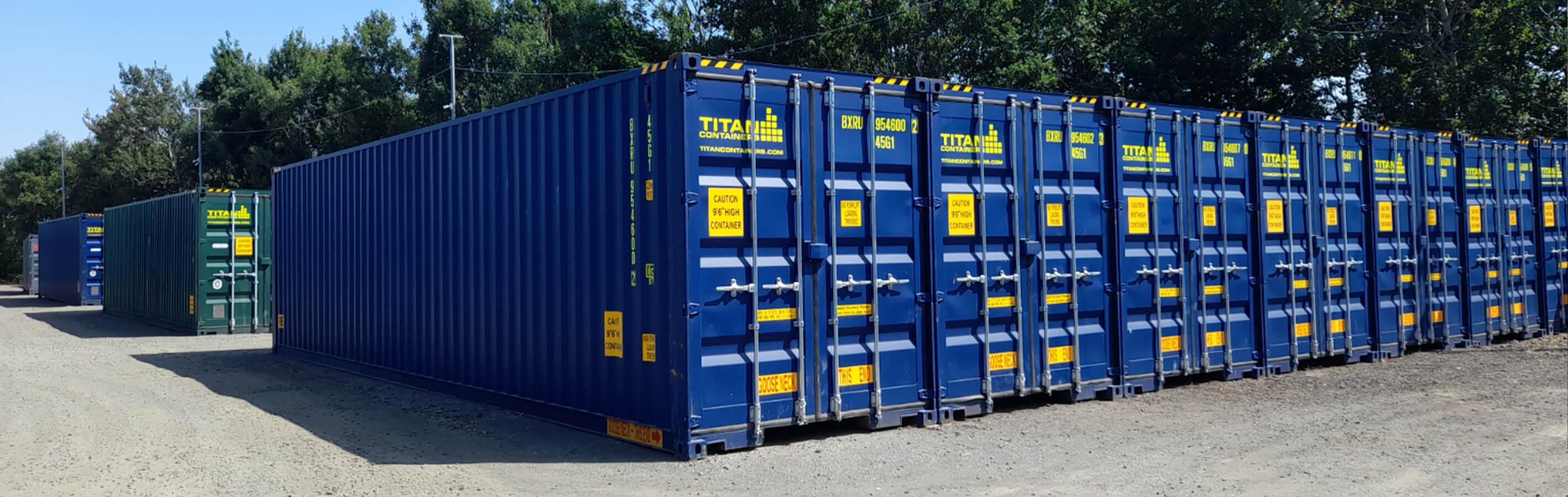 Glasgow Self Storage header image | TITAN Containers