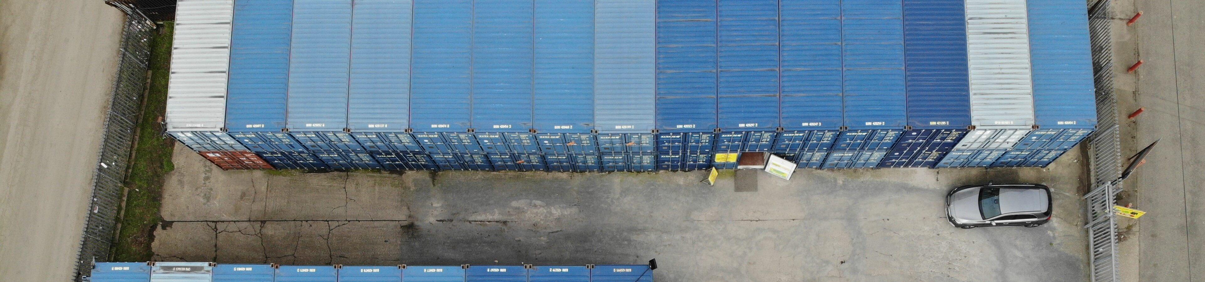 Grays Essex Self Storage header image | TITAN Containers