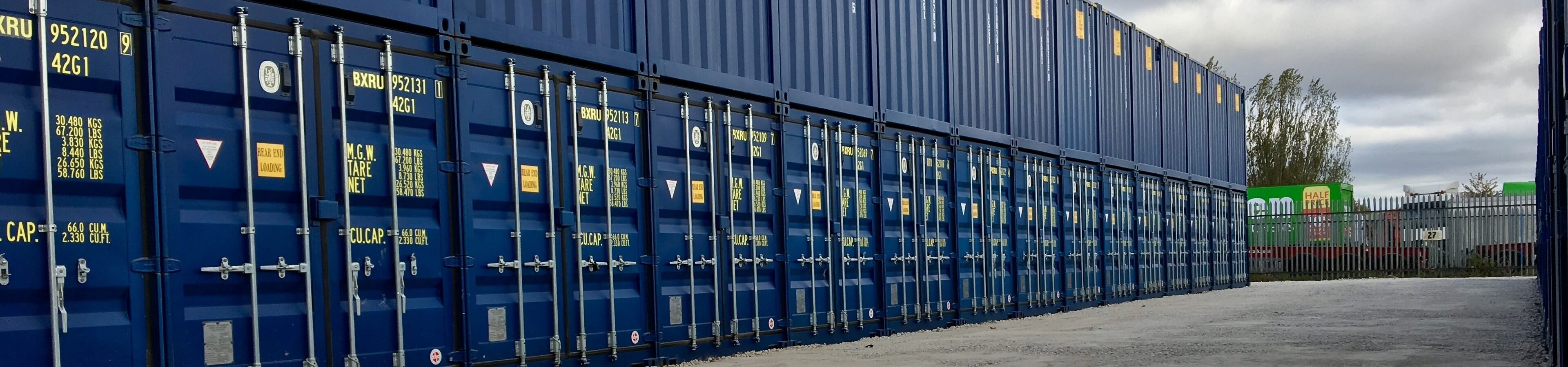 Hull West Self Storage header image | TITAN Containers