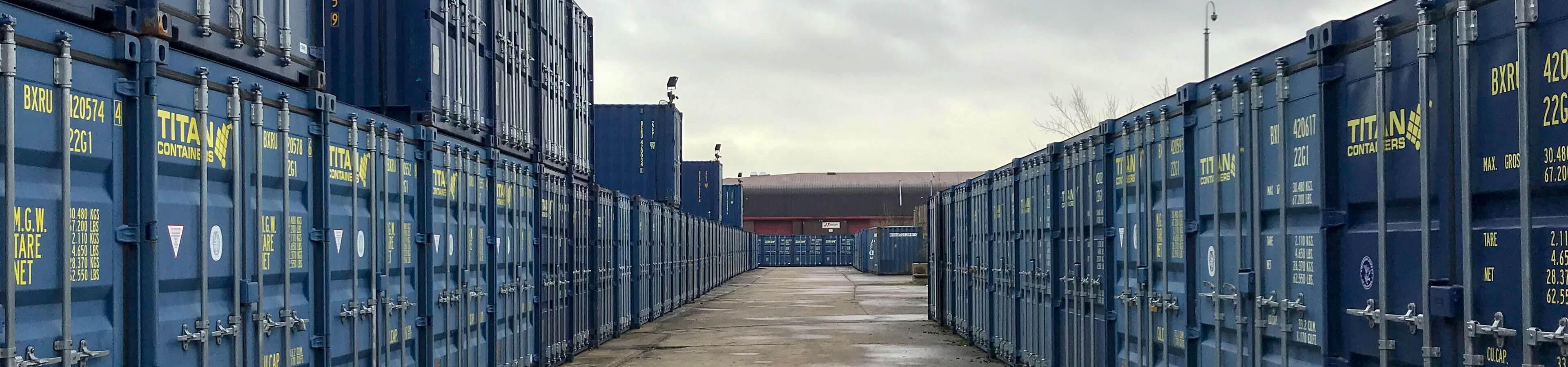 Melton Mowbray Self Storage header image | TITAN Containers