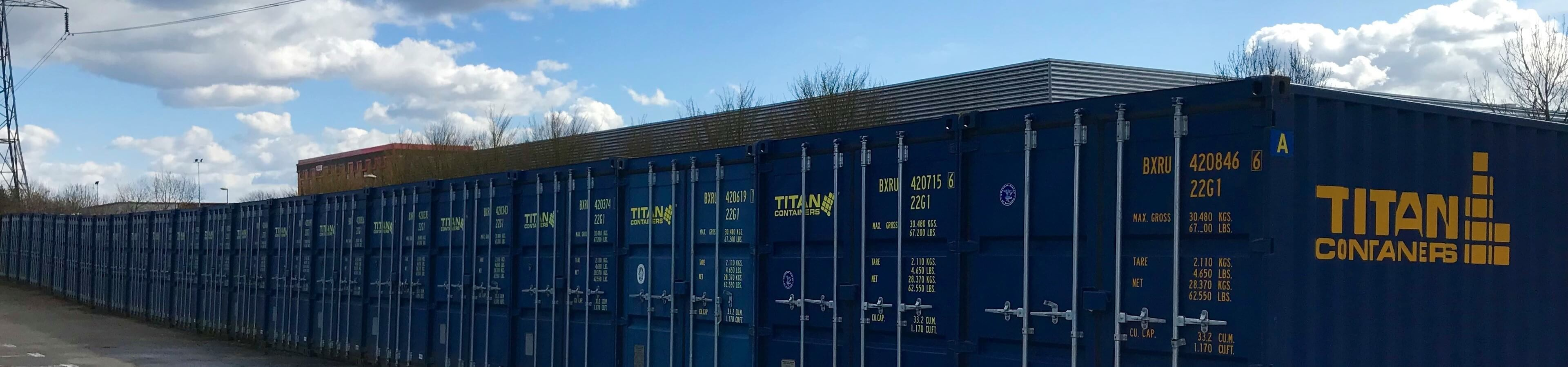 Southampton Self Storage header image | TITAN Containers