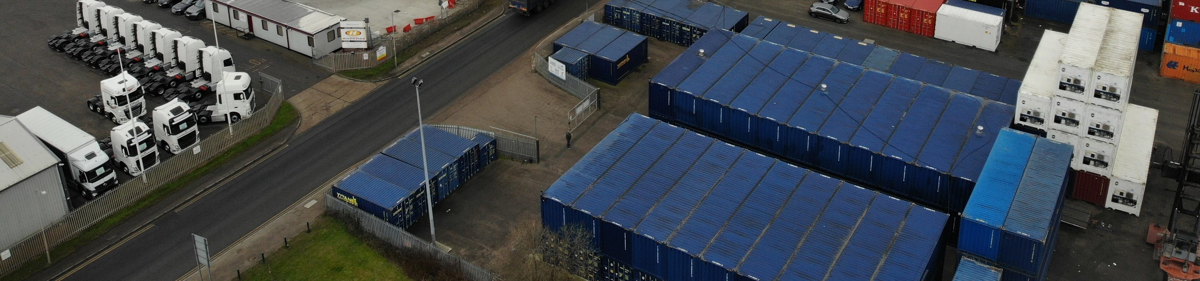 West Thurrock Self Storage header image | TITAN Containers