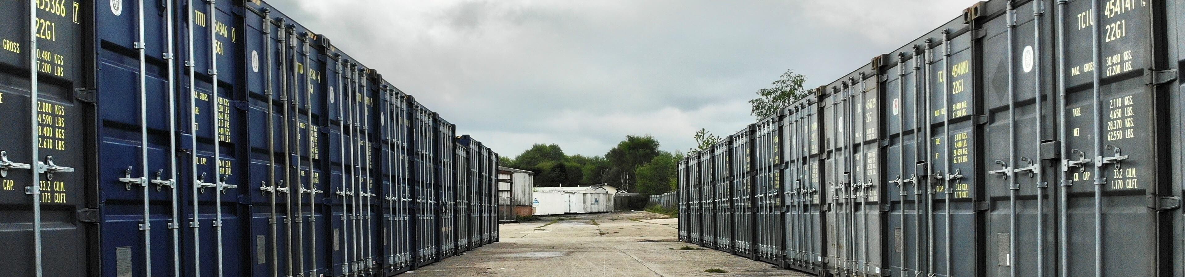Wigan Self Storage header image | TITAN Containers